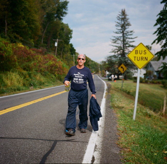 Pictures Of One Mans 600 Mile Walk For Justice