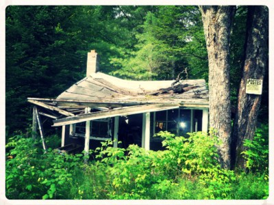 Abandoned ADK Hunting Cabin (1)