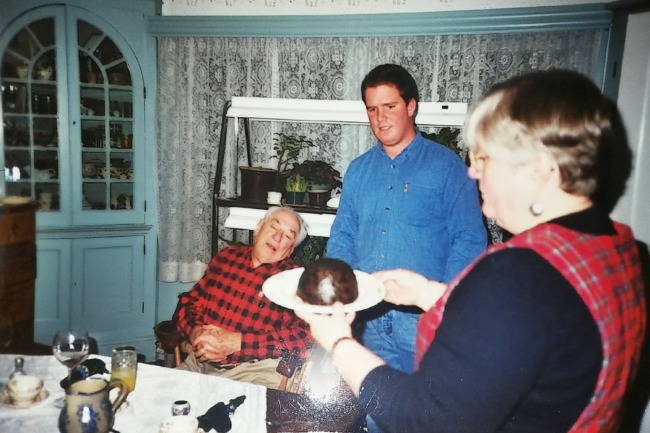 Slatin Family Christmas, Circa 2001