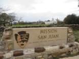 Mission San Juan Sign