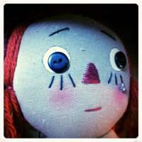 Sad Creepy Doll
