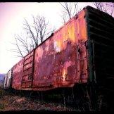 Santa Fe Railroad Boxcar