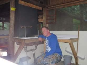 Thomas Slatin - Camp Chateaugay Wilderness Kitchen Sink