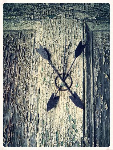 Two Arrows On The Door