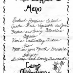 camp chateaugay banquet 1991 - back