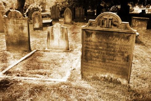 grave-stones