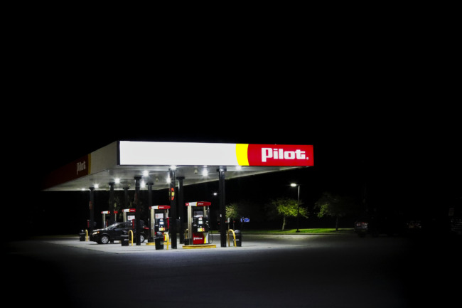 Here's A Truck Stop Instead Of Saint Peter's