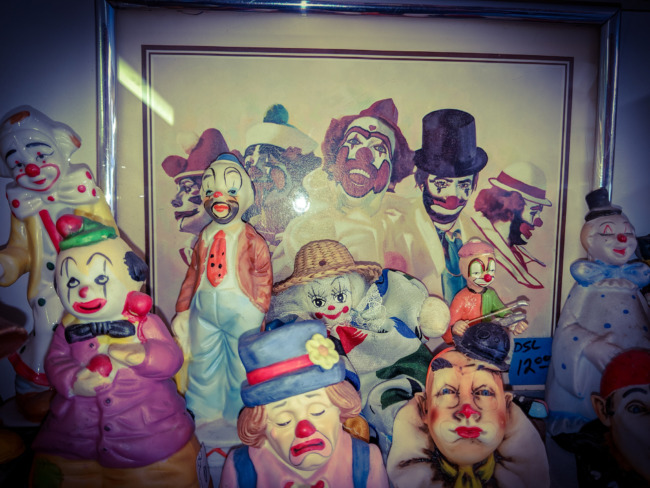 Very Creepy Clown Collection