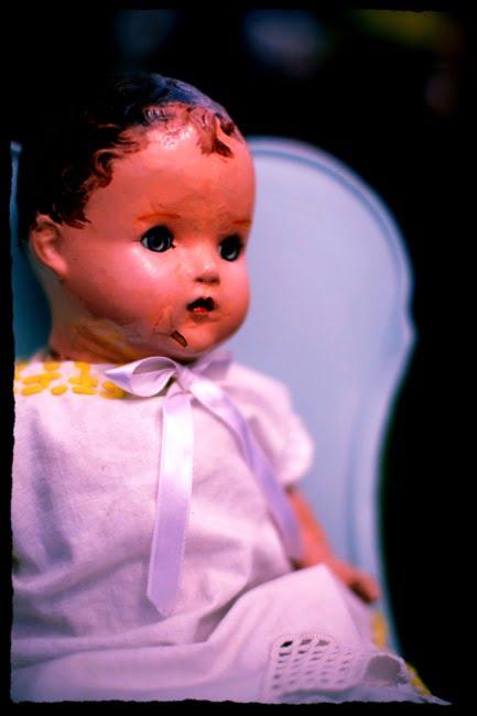 Vintage Creepy Doll