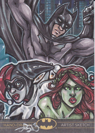 Artist Proof sketch card by Amber N Shelton
