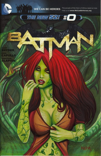 Poison Ivy Fans in the Batman Universe, check this hand drawn comic cover out!