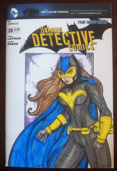 Hand Drawn Comic Book Cover of the Day! 9/13/13
