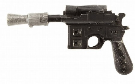 The Ideal Xmas Present for Any Star Wars Fan? Han Solo's Blaster (the real one!)