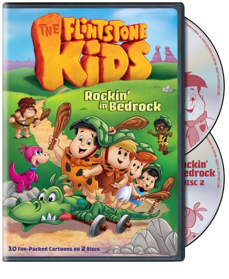 The Flintstones Kids DVD