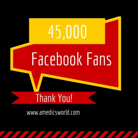45,000 Facebook Fans!