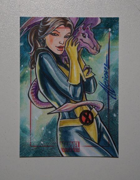 Shadowcat Sketch Card