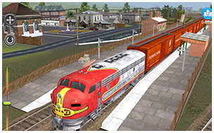iOS game review of Trainz Simulator 2 for the iPad – Ride the Rails!