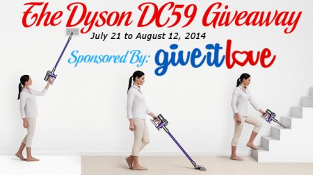 Dyson Vacuum Giveaway