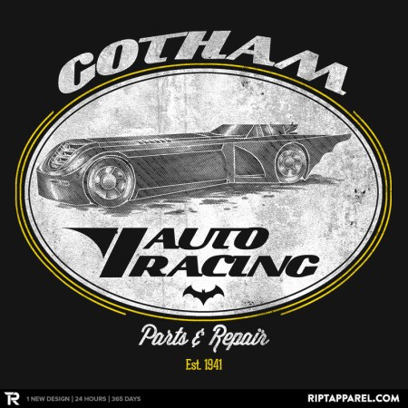 Batman:  The Animated Series Style T-Shirt available today, Sells Out tonight!