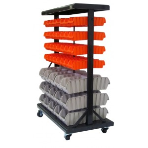 Trinity Intl. Storage Bin Rack #storage #organized #hobby #business