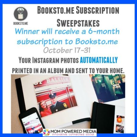 Win a six month subscription to Booksto.me – Ends 10/31