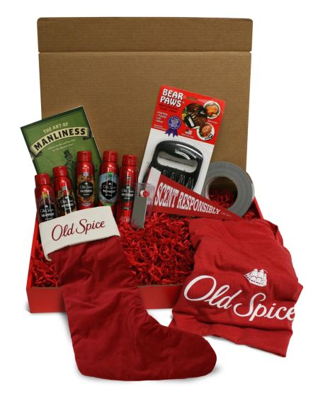 Old Spice Holiday Smellcome to Manhood Sweepstakes – Ends 12/5