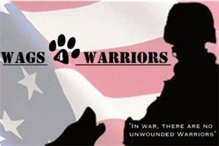 Wags 4 Warriors – Helping Veterans Through Service Dogs – Find Out How You Can Help