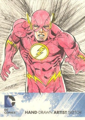 The Flash Roy Cover Sketch Card