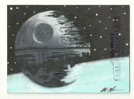 Scott Houseman Death Star Sketch