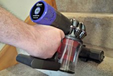 Review of the Dyson - V6 Absolute Bagless Cordless Stick Vacuum #review #vacuum #bestbuy #dyson