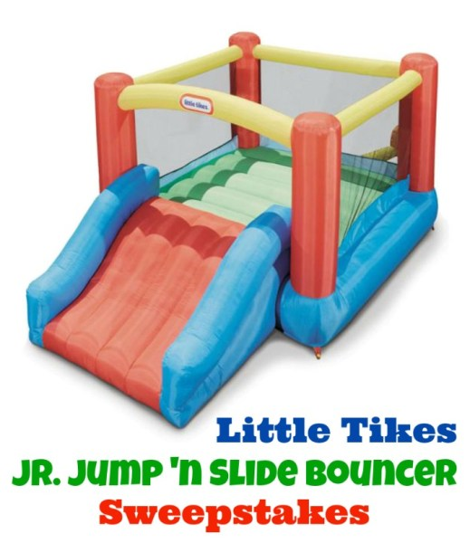 Jr. Jump 'n Slide Bouncer Giveaway – Ends 5/18