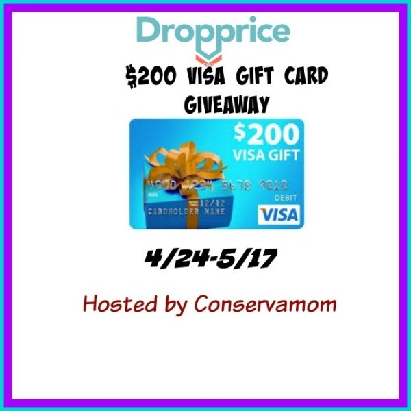 $200 Visa Gift Card Giveaway Ends 5/17 #giveaway #win #sweepstakes