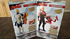 Avengers Titan Heroes Iron Man and Hawkeye Deluxe Electronic Action Figure Set