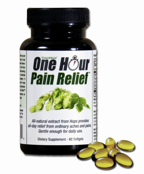 Vinoprin One Hour Pain Relief Supplement Review