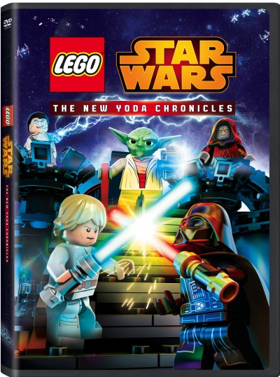 Lego Star Wars: The New Yoda Chronicles – On DVD 9/15