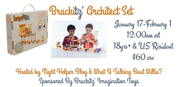 Brackitz' Architect Set Giveaway - Ends 2/1 Great for young or old, have fun, and good luck! ~Tom