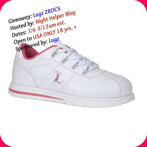 Lugz ZROCS Sneakers Giveaway Ends 3/13 Good Luck from Tom's Take On Things