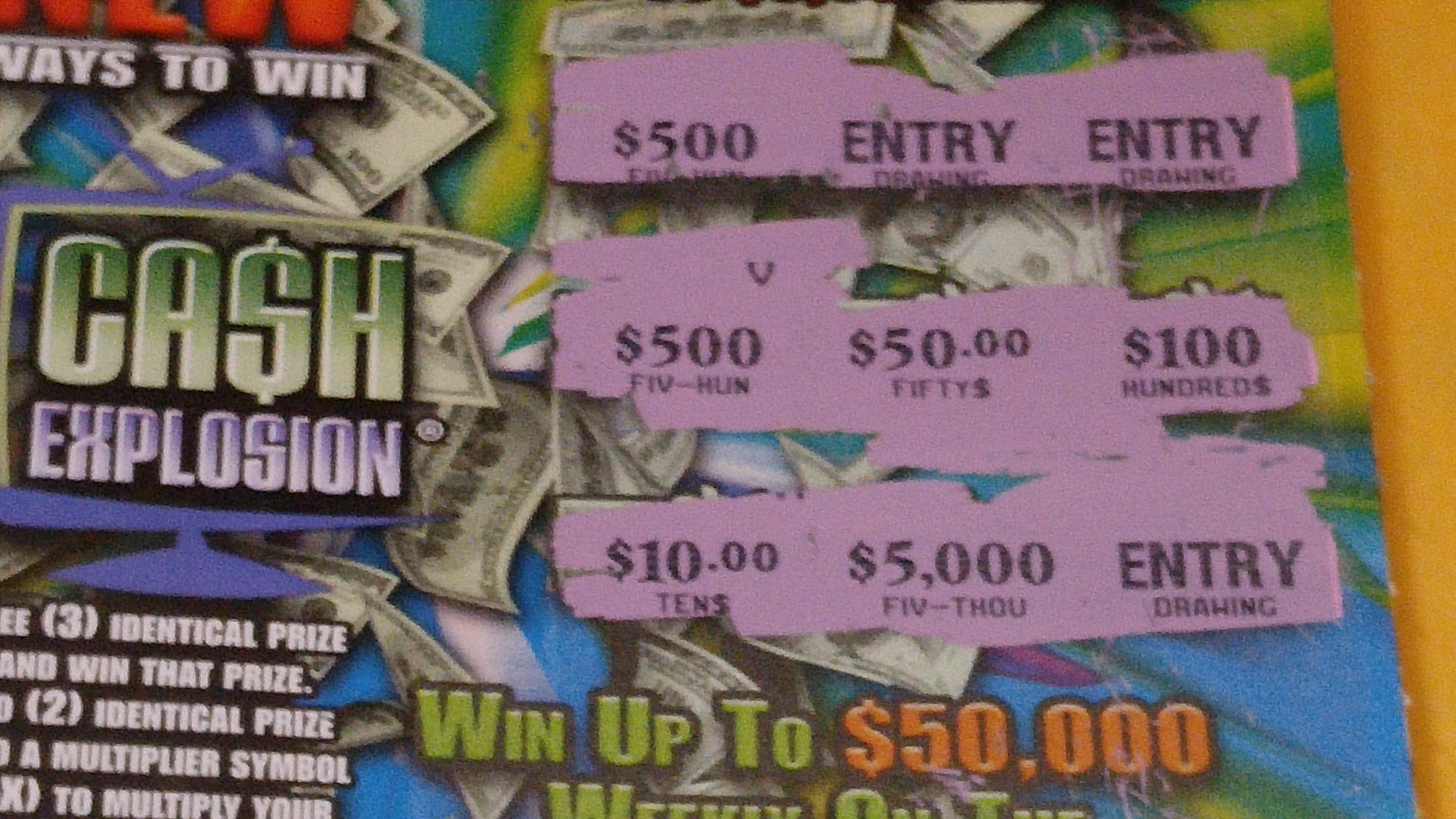 Cash explosion game show in ohio play casino free money