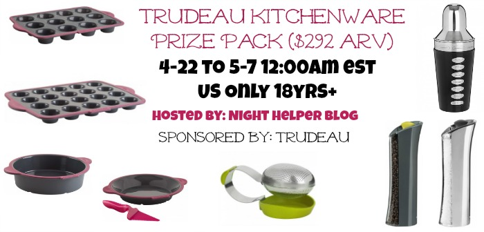 Win this Trudeau Kitchenware Prize Pack