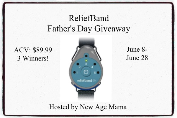 ReliefBand Father's Day Giveaway - Ends 6/28 Good Luck from Tom's Take On Things