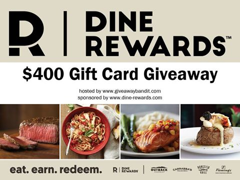Win a $100 Gift Card to Outback, Carrabba's, or Fleming's ~ 4 Winners Good Luck from Tom's Take On Things