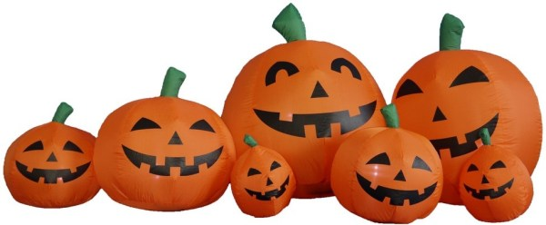 12 Foot Pumpkin Patch Halloween Inflatable Giveaway Good Luck from Tom's Take On Things