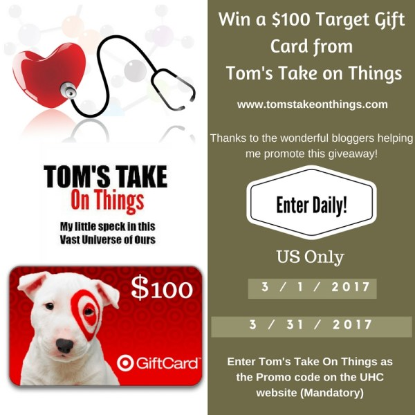 $100 Target Gift Card Giveaway