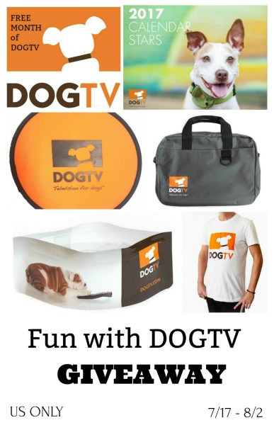 Fun with DOGTV Giveaway – Win a DOGTV Prize Pack