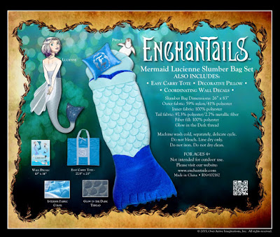 Enchantails Mermaid Slumber Bag Exclusive Holiday Giveaway