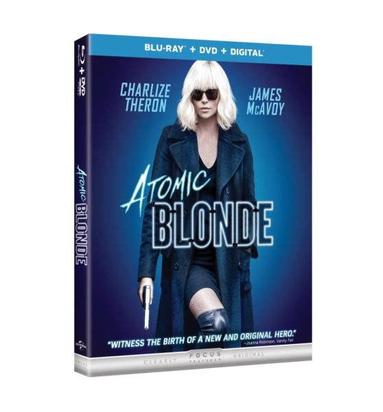 Win a copy of the movie Atomic Blonde Ends 11/23