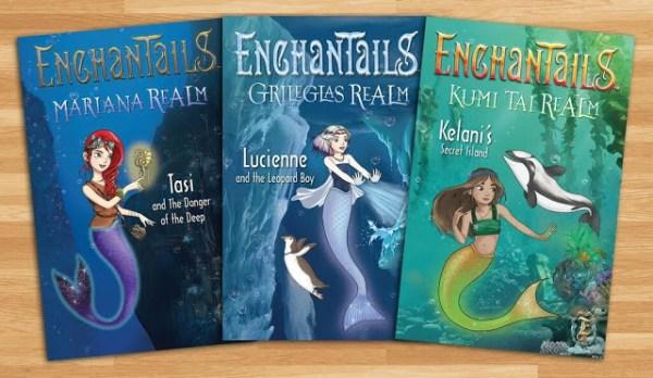 Enchantails Mermaid Book Set Holiday Giveaway Ends 12/15