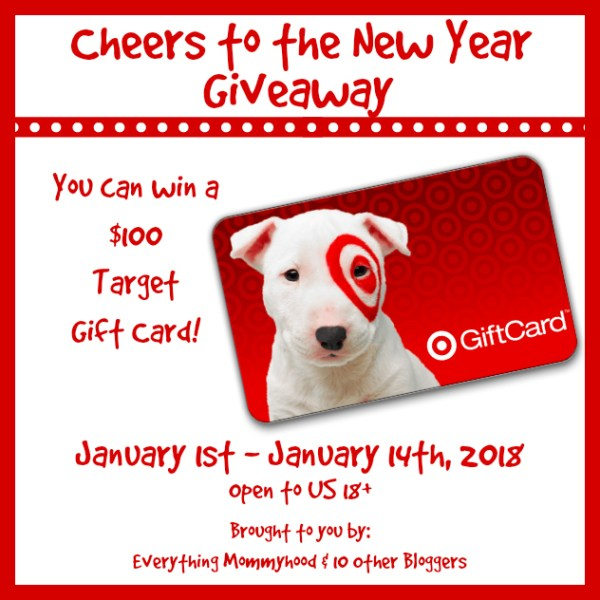 Welcome to the $100 Target Gift Card Giveaway Ends 1/14/18