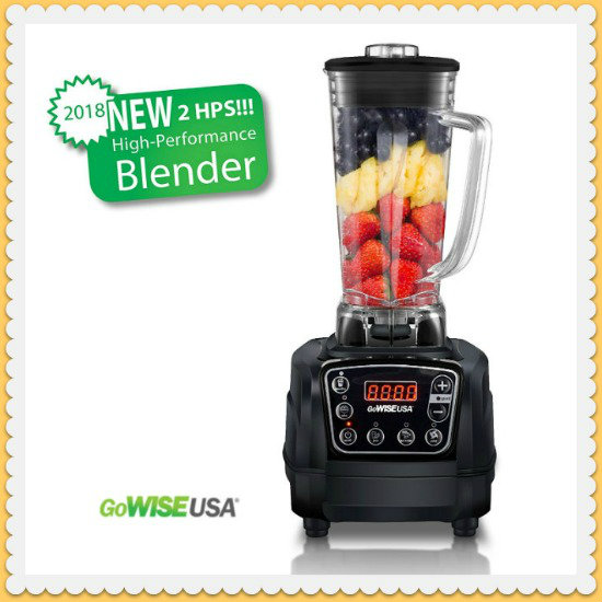 GoWISE Premiere High-Performance Blender Giveaway Ends 6/17