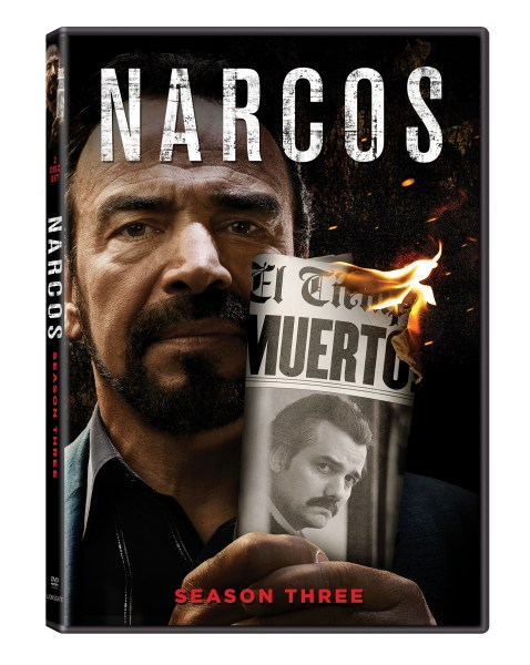 Narcos Season 3 arrives on DVD 11/13 ~ Are you a fan of the show?